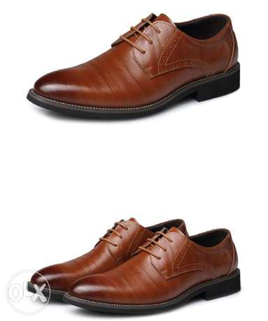 Men's leather cover shoe Gwarinpa Estate - image 2