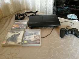 Ps3 Super Slim With 3 games