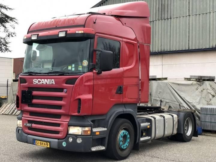 Scania R380 - Manual - Analog Tacho - Original Km - Nl Top Truck - 2005