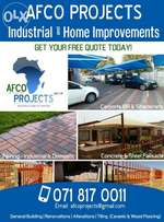 AFCO PROJECTS - Paving, Carports, Palisades, Gates, Tiling