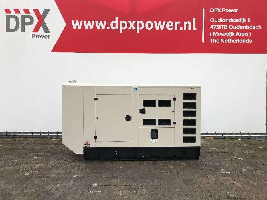 Deutz-fahr WP4D108E200 - 110 kVA Generator - DPX-19504 - 2019