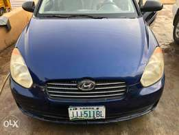 well maintained Hyundai Accent with manual gear.
