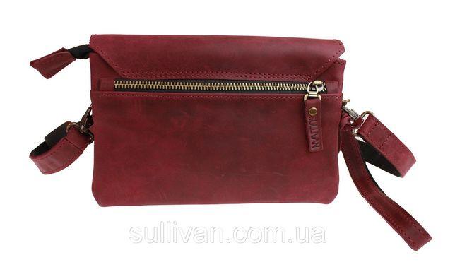 d3a723a0e25b Кожаная женская сумка клатч натуральная кожа ручная работа sullivan Козелец  - изображение 2