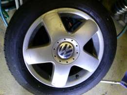 VW mag x2 with tyres