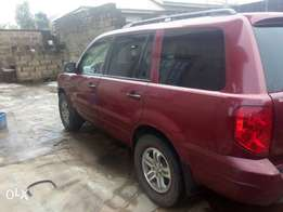 Honda Pilot in need of a new home