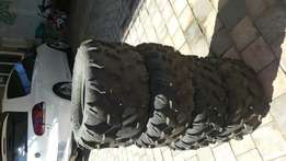 Quad Bike Tyres (used)