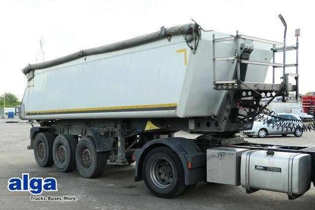 Schmitz Cargobull SKI 24, Alu Mulde 27 m?., Liftachse, Plane. - 2011