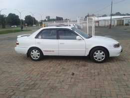 2002 Toyota Corolla 1.6Rxi sedan For Sale R55000 Is Available