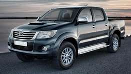 Double Cab pickups required on long and short lease