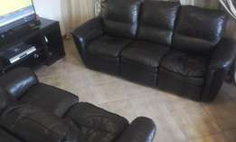 3 + 2 + 1 seater couches 5 ACTION incliner set