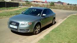 2007 audi A4 1.8T for R62000