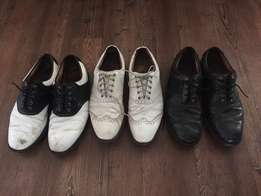 3 Pairs of Footjoy Icon golf shoes