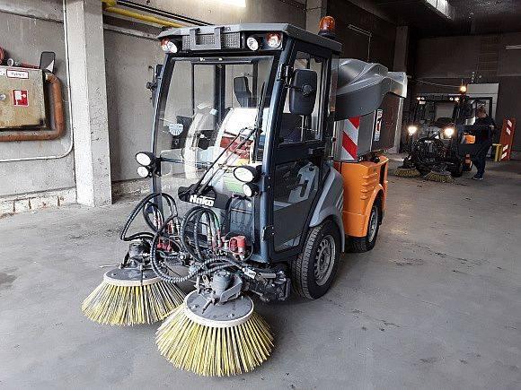 Hako Citymaster 1250 4x4 Kehrmaschine aus 1.Hand - 2014
