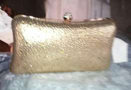 Simple but classy gold clutch