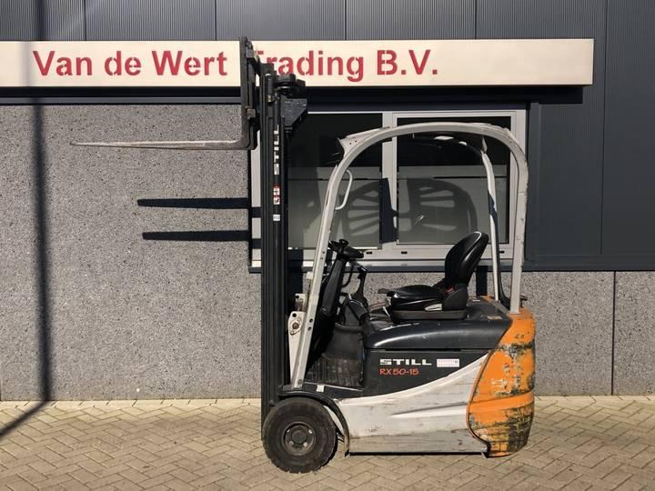 heftruck STILL RX50-15 triplo550 freelift 14400 2009 me... - 2009