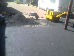 Industrial and residential Tar surfaces