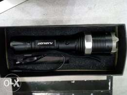 Multifunction Taser Flashlight. Zoomable light. Rechargeable Battery