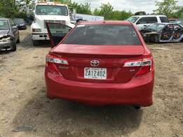 Jst arrived 2012 Toyota Camry accident free. This car has no single sp