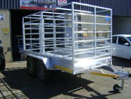 Cattle and sheep trailers