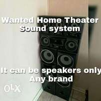 Hi I'm looking for a Home theater OR sound system