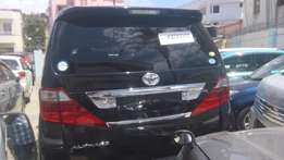 Fully loaded Toyota Alphard available for sale