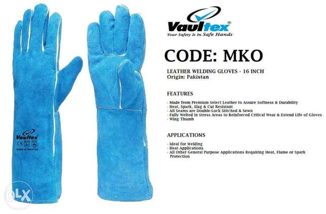 CoDe:Mko, leAtheR wELdIng GlovEs-16 IncHEs