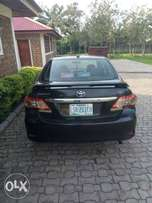 A year used Toyota corolla is here for sale