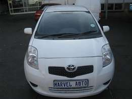 2008 Toyota Yaris 1.3 5-Door T3+ For R70000