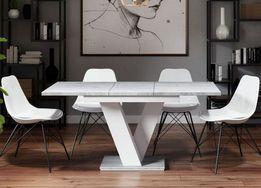 Stół Biały Stoły I Krzesła Olxpl