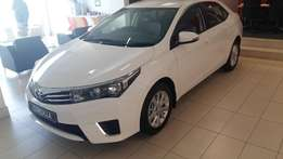 Brand new Toyota corolla 1.6 prestige for only R284 990 from toyota