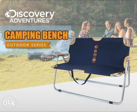 Discovery Adventure Folding Camping Bench With C
