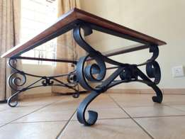 Coffee table (Wrought iron)