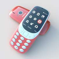 bontel 3310 Phone With 1000mAH Battery - Red