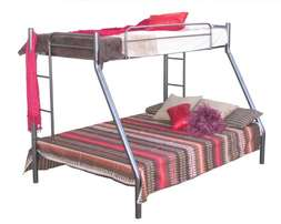 New Steel Tri-Bunk Bed Frame Only