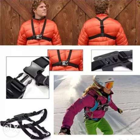 Chest Strap mount belt for Gopro hero And Action Cameras جونيه -  4