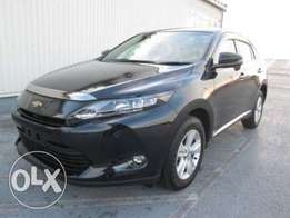 Black brand new harrier Toyota 2014 model, finance terms accepted