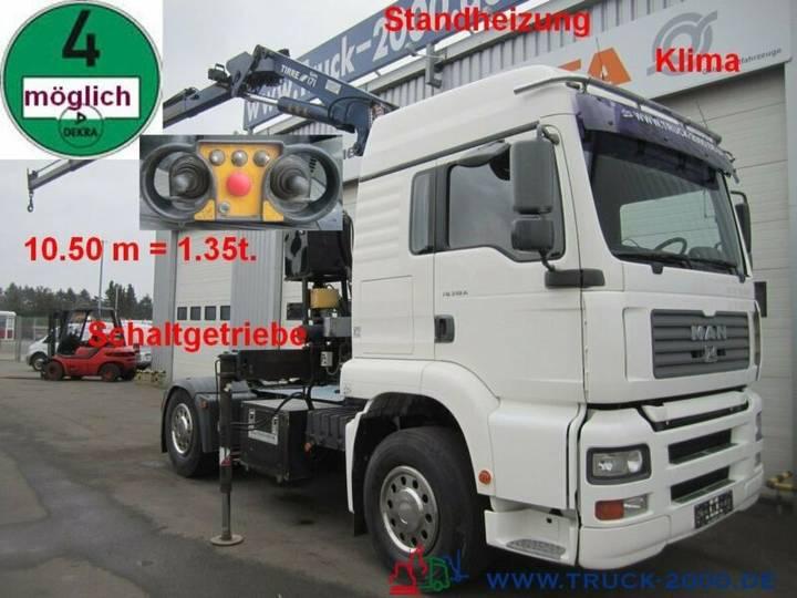 MAN TGA 18.310 Tirre171Kran+FB+Schaltgetriebe Klima - 2001