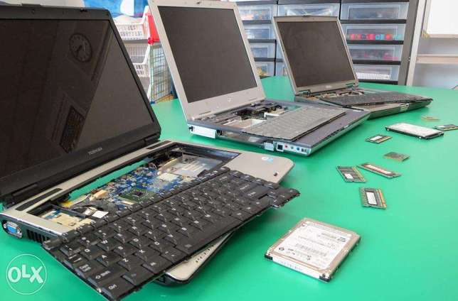 We buy used and damaged laptops and Desktop computers