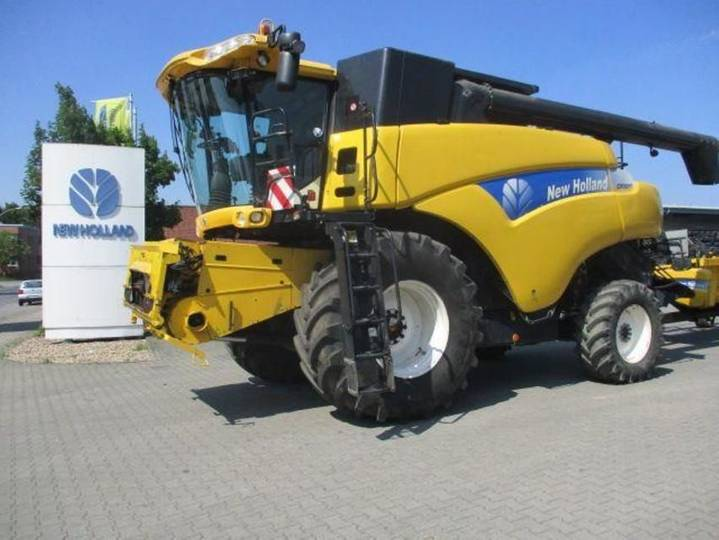 New Holland cr 9060 allrad - 2007
