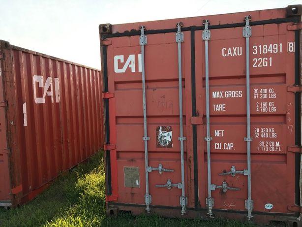 Inne rodzaje Kontener kontenery morski magazynowy 20 DV 6m CAŁA POLSKA od 6500 ZD75