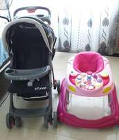 Bouncer Pram & Walking ring for Sale..