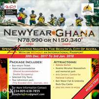 Fantastic New Year In Accra Ghana (4 Amazing Nights)