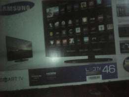 46 inch led smart tv asking 40k negotiable samsung quick sale