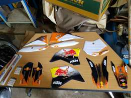Ktm 50 and 65 Sticker kits for sale