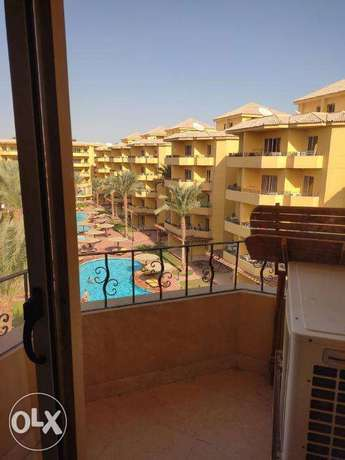 2 bed rooms flat in cozy compound BRITISH RESORT
