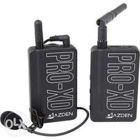 Azden PRO-XD 2.4 GHz Digital Wireless Lavalier System For Camcorders
