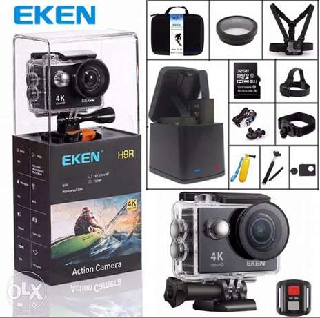 Original EKEN H9 Sports Camera H9R Ultra hd 4K 25fps 170 Degree wifi
