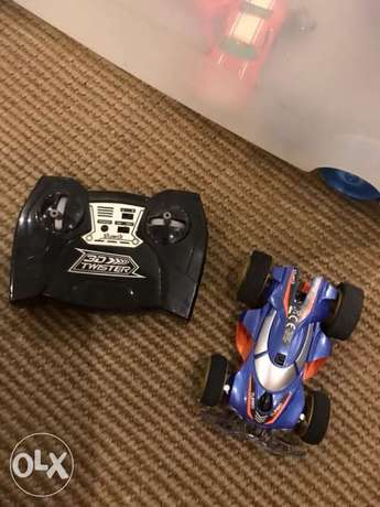 3D twister car with remote control