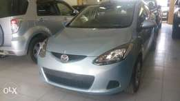 Sky blue Mazda Demio Available for Sale