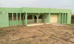 4bedrm self compound in kasoa Akweley for 2yrs rent very affordable